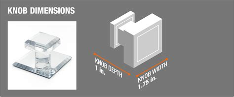 Adhesive Mirror Door Pulls - barton kramer 1 in self adhesive acrylic mirror pull knob