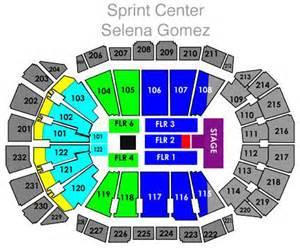 sprint center floor plan selena gomez tickets kansas city mo nov 17 2013 sprint center