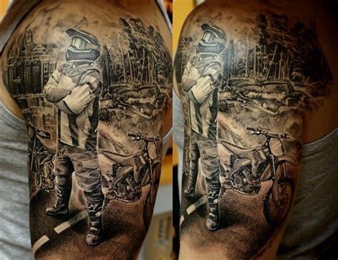 biker tattoo picture