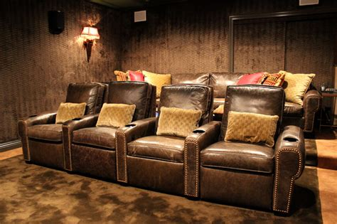 Small Dedicated Home Theater Dedicated Home Theater In Roslyn Ny