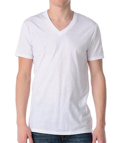 Pocket V Neck Shirt Only White zine deuce white v neck t shirt zumiez