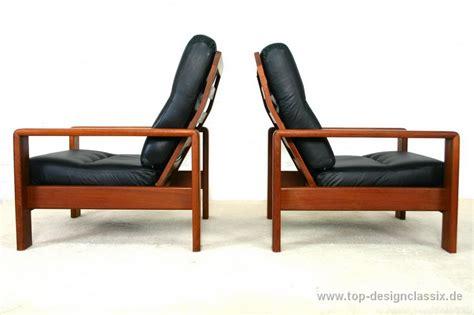 stuhl 60er teak 1a repainted bramin denmark easy chair armchair mid