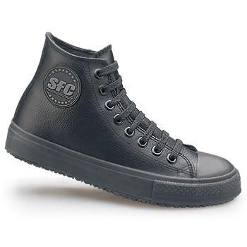 school classic black slip resistant athletic shoes