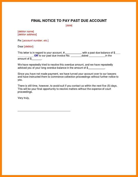 Nicholl Letters Due Out 2 by Past Due Collection Letter Templates Pictures To Pin On