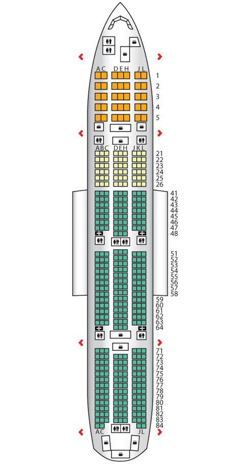 boeing 777 300er jet seating plan economy plus b777 300er pakistan international