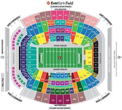 everbank field map everbank field seating chart everbank field seating chart interactive seat map seatgeek
