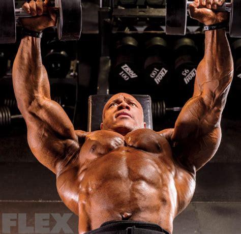 how much does phil heath bench phil heath s olympia winning chest routine flex online