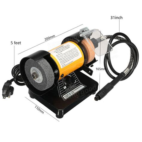 3 inch bench grinder 110v ac 3 inch mini bench grinder flexible shaft rotary