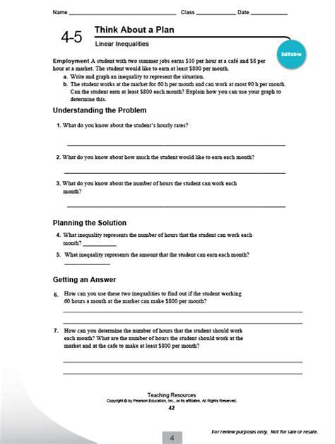 Pearson Education Inc Science Worksheet Answers by Pearson Math Worksheets Defendusinbattleblog
