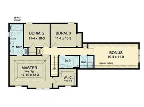 colonial home floor plans colonial style house plan 3 beds 2 5 baths 1970 sq ft