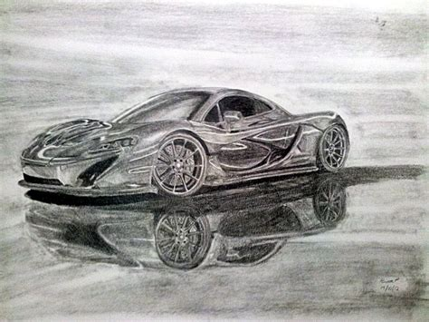 mclaren drawing mclaren p1 concept car drawing by pavee12120 on deviantart