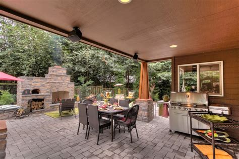 houston brick outdoor fireplace patio traditional with outdoor fireplace seattle fireplaces