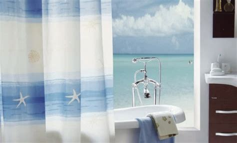 shower curtain beach theme best decoration for beach theme shower curtain best