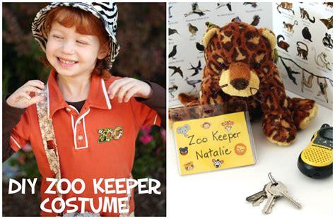 easy diy zoo keeper costume  kids   takes