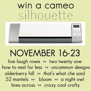 Silhouette Cameo Giveaway - silhouette cameo giveaway uncommon designs