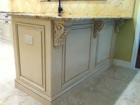 Applied molding kitchen cabinets traditional kitchen