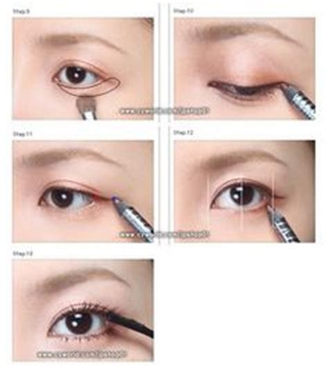 tutorial make up imut korea 1000 images about make up eyes on pinterest yoona snsd