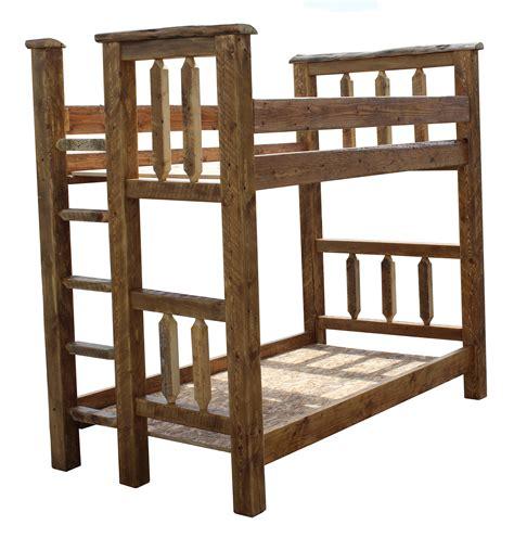 Barn Bunk Bed Barn Wood Bunk Bed Tenon Breck Bears