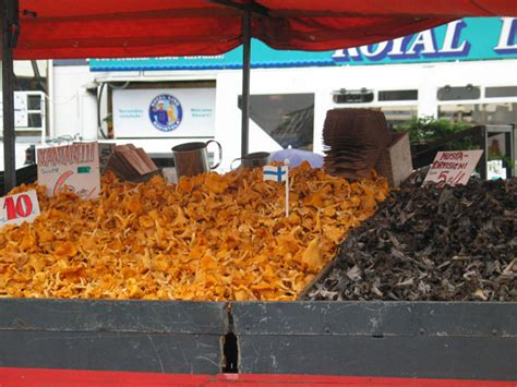 come si cucinano i finferli kauppatori la piazza mercato di helsinki guida