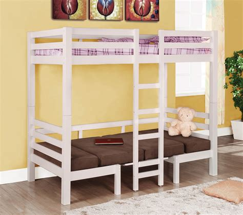 Bunk Beds Convertible by Dreamfurniture 460273 Bunks
