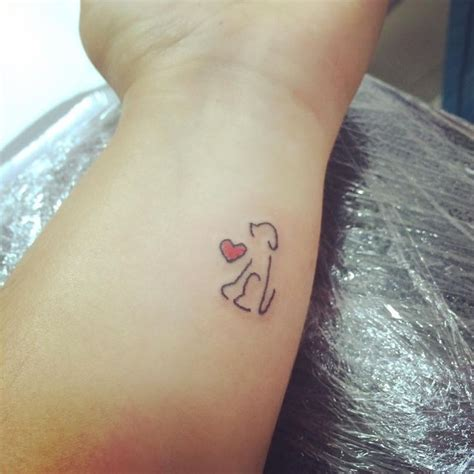minimalist dog tattoo 158 best images about tats on pinterest