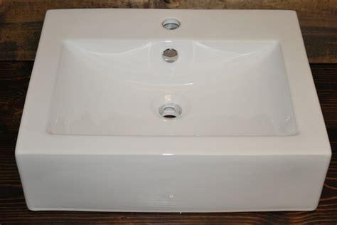 square porcelain vessel sink cb03 bathroom sinks san
