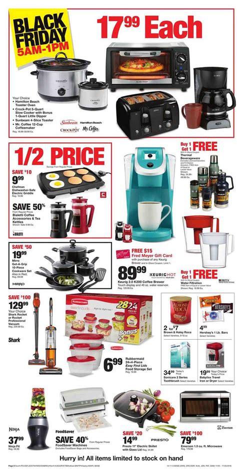 fred meyer kitchen appliances fred meyer black friday ad 2016