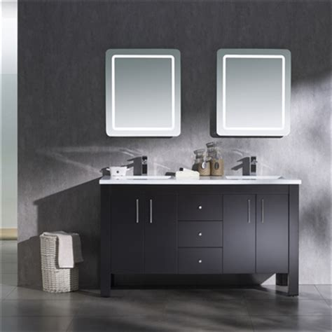 Parsons Vanity by Vanity Parsons 60 With Solid Surface Top