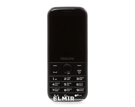 Philips E160 2 4 Dual Gsm Black philips xenium e160 black