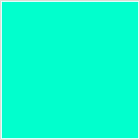 color blue green 00ffcc hex color rgb 0 255 204 blue green bright
