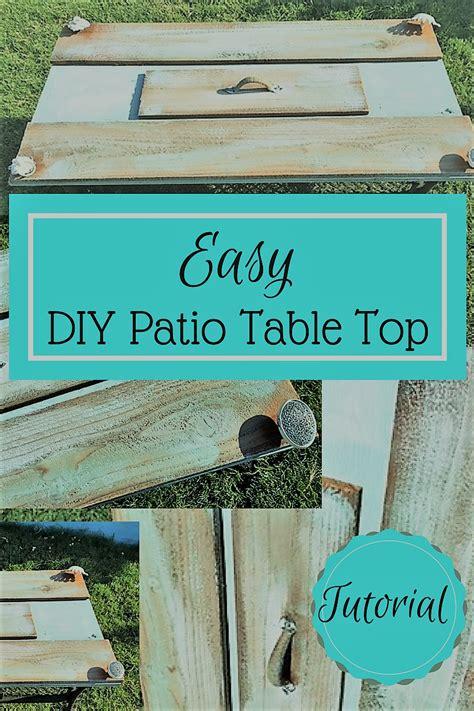 Diy Patio Table Top Diy Patio Table Top Tutorial Turn That Or Broken Table Top Into An Amazing Diy Creation In
