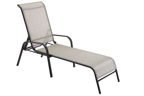 sling chaise unbranded maple valley steel sling chaise 2x2 sling the