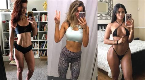 hot female fitness instagram photos sexiest female trainers on instagram in 2017