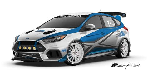 Ford Rally by Ford Builds Four Focus Sema Concepts Roadshow