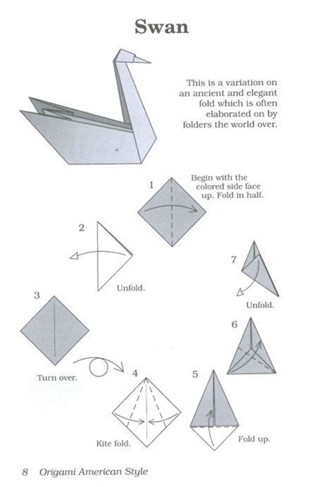 Origami Swan Napkin - 17 best images about konfirmasjon on origami