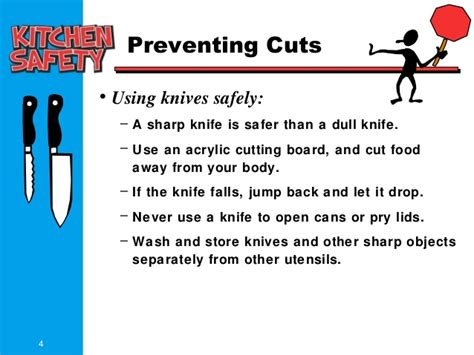 How To Use Kitchen Knives Kitchen Saftey Uni Tt