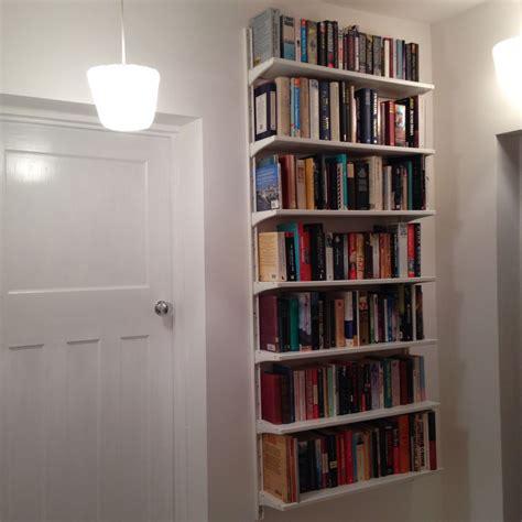 shelf floor l ikea ikea algot floating bookcases keeps floor space clear for
