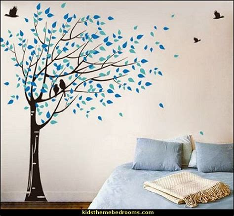 wall mural sticker decorating theme bedrooms maries manor tree murals