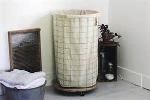 make a laundry hamper diy wire laundry hamper 187 the merrythought