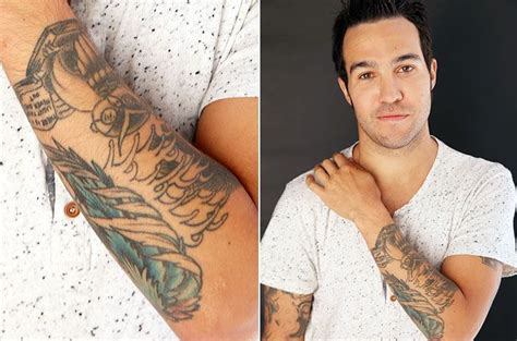 pete wentz tattoo show 27 best gettin inked images on