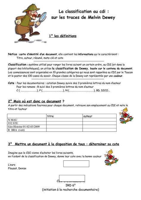 Resume D Un Livre by Calam 233 O La Cote D Un Livre Sur Les Traces De Melvin Dewey