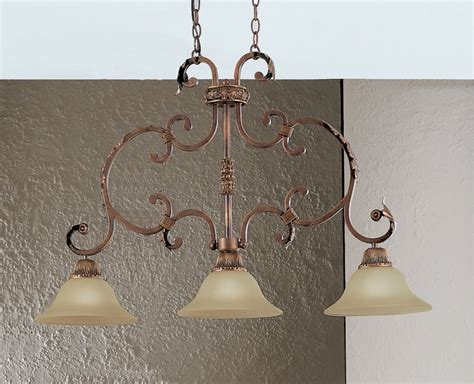 Wrought Iron Island Lighting Classic Lighting 92200 Cpb Copper Bronze 24 Quot Wrought Iron Island Billiard From The Asheville