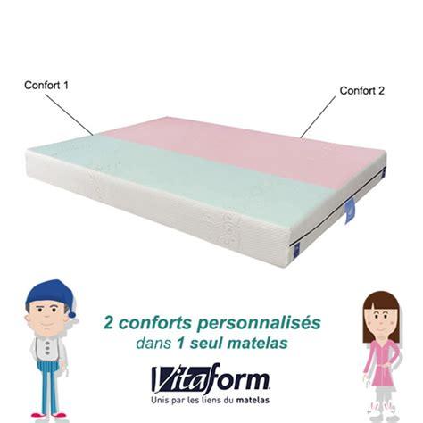 Avis Sur Matelas Memoire De Forme by Matelas Confort Sur Mesure 224 M 233 Moire De Forme Vitaform 2