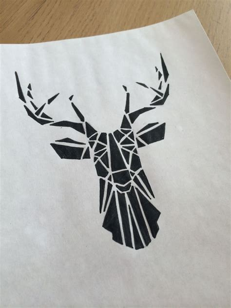 stag head designs stag head on pinterest