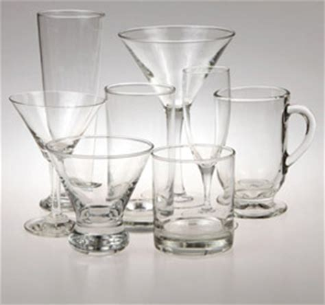 Assorted Bar Glasses Glassware Be Our Guest