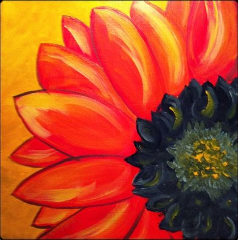 acrylic painting ideas flowers original acrylic painting on 12x12 canvas painting home