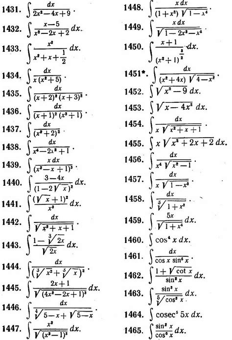 Table Of Integrals by The Gallery For Gt Integral Table Exponential