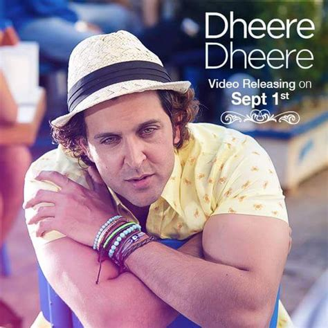 hrithik roshan movie song dheere dheere first look hrithik roshan and sonam kapoor