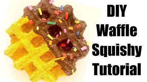 tutorial waffle homemade waffle squishy tutorial youtube