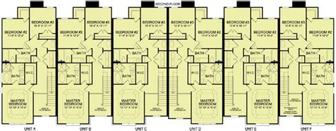 6 plex floor plans 6 plex 4 2nd floor apartment house plan ideas